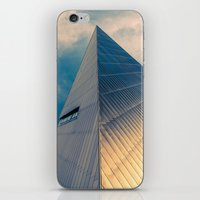 pyramid iPhone & iPod Skins featuring Pyramid by Cameron Booth