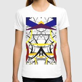 geometric architecture T-shirt
