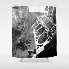 The man cave Shower Curtain
