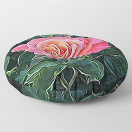 Trembling Flower of Enchantment Floor Pillow