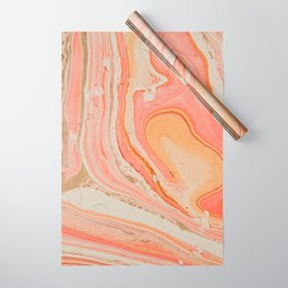 Marbled paper Wrapping Paper