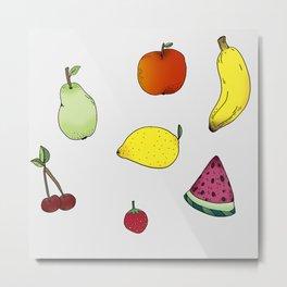 Frukt Metal Print