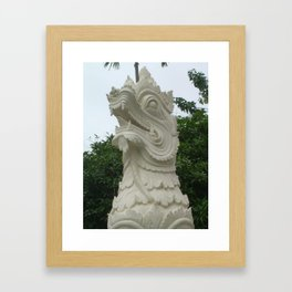 Naga in Thailand Framed Art Print