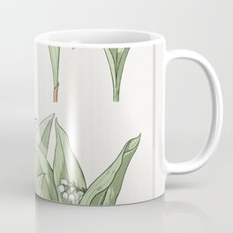 Muguet (lily of the valley) from La Plante et ses Applications ornementales (1896) illustrated by Ma Coffee Mug