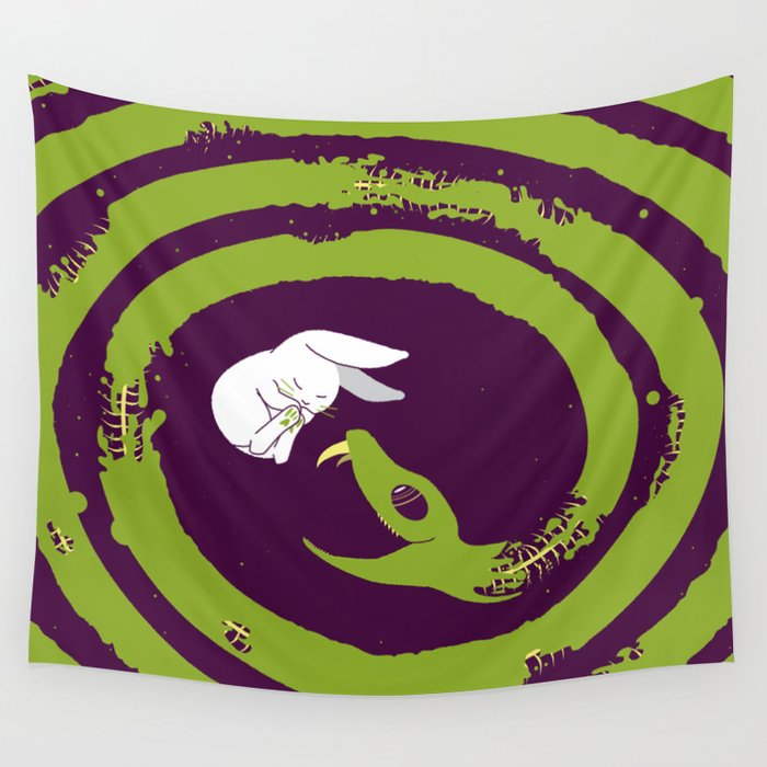 Decaying Snake Wall Tapestry