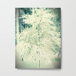 A Perfectly Snowy Day Metal Print