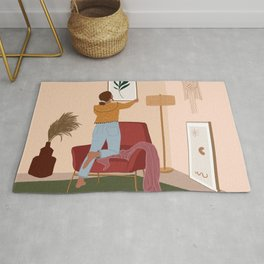 Life is better with Art Rug