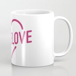 Pink Mome Love Coffee Mug