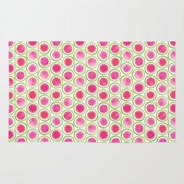 Watermelon Radish pattern Rug