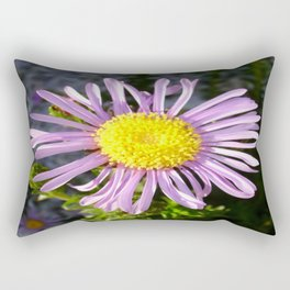 Magenta Aster - A Star of Love and Fidelity Rectangular Pillow