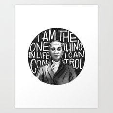 Wait For It [Aaron Burr] Art Print