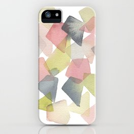 Abstract Geometrics iPhone Case