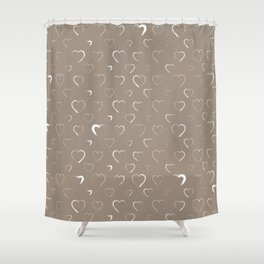 Made for you my heart 19 Shower Curtain
