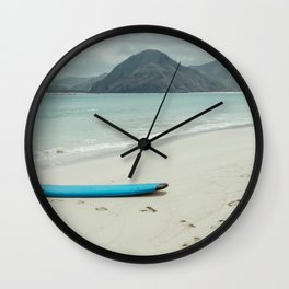 Lombok beach Wall Clock