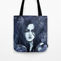 marceline Tote Bags featuring Marceline by Angela Rizza