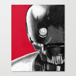 K2SO print Canvas Print