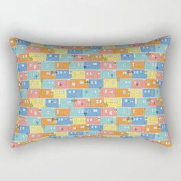 Pastel Bo-Kaap Rectangular Pillow