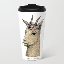 Goat – Sign of 2015 Year Travel Mug