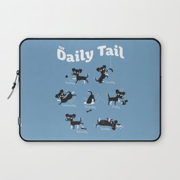 The Daily Tail Dog Laptop Sleeve