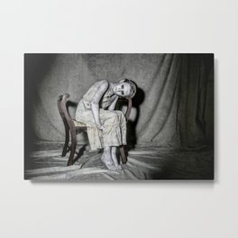 When the Hand of Solace is Cold Metal Print