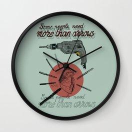 Cupid´s drill Wall Clock