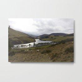 Pentland Hills 1 Metal Print