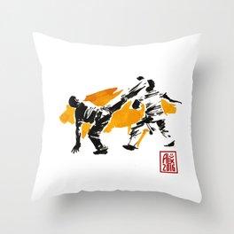 Capoeira 1018 Throw Pillow