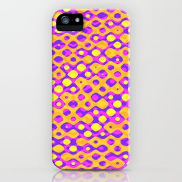 Brain Coral Pink Banded Cross Small Polyps - Coral Reef Series 029 iPhone Case