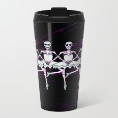 Dancing Skeletons Metal Travel Mug