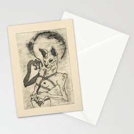 Kiki Pussy Stationery Cards