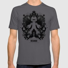 Megaman Geek Ink Blot Test T-shirt