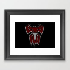 Bat-Spiderman Framed Art Print