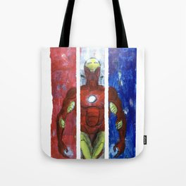 The Invincible triptych Tote Bag