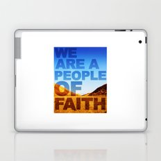 WE ARE A PEOPLE OF FAITH (Hebrews 11) Laptop & iPad Skin