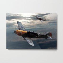 Messerschmitt Bf 109 Metal Print