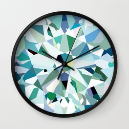 Solitaire Diamond Wall Clock