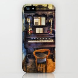Love Is Called My Old Piano iPhone Case