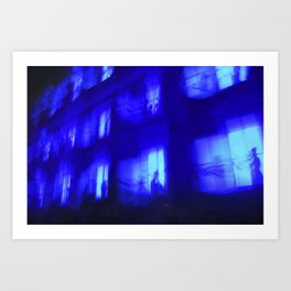 Ghosthouse Art Print