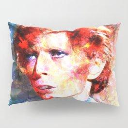 David (A Fractal Portrait) Pillow Sham