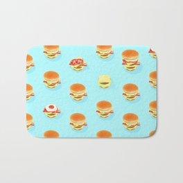 Bounce Burger Bath Mat