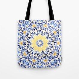 Deep States (Mandala) Tote Bag