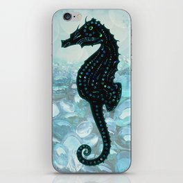 Jewel Seahorse iPhone Skin