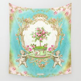 French Baroque Patisserie Tea Wall Tapestry