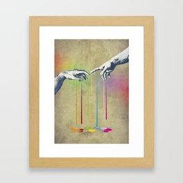 But deliver Us from Evil Framed Art Print