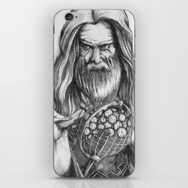 Father Time by Kate Morgan iPhone Skin