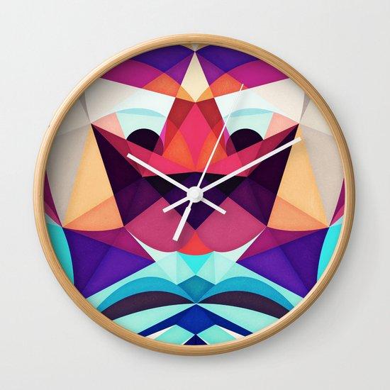 Well, This Is Weird Wall Clock