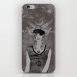 Weeping Pirates iPhone Skin