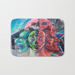 Aliens in the Graffiti Bath Mat