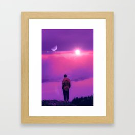 Finding Out the Truth Framed Art Print