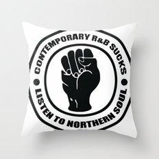Contemporary R&B Sucks Throw Pillow